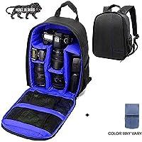 Brain Freezer J DSLR SLR Camera Lens Shoulder Backpack Case for Canon, Nikon Sigma Olympus (Exotic Blue)