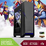 PC Gamer Neologic Moba Box NLI68176 Intel Core i5-7400 8GB (GeForce GTX 1050Ti 4GB) 1TB