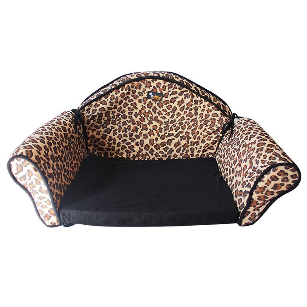As-picture 503531cm As-picture 503531cm Kirabon Fashion Pet Kennel Small Kennel Pet Sofa Nest (color, Size   50  35  31cm)