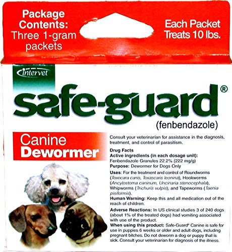 Merck Animal Health Safe-Guard Canine Dewormer, 1 gm by Merck Animal Health