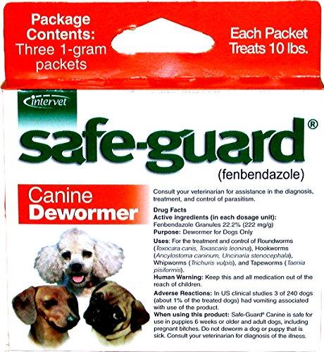 Merck Animal Health Safe-Guard Canine Dewormer, 1 gm by Merck Animal Health
