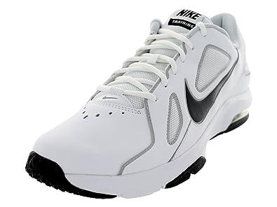 3e56865df1 Amazon.com | Nike Men's Air Max Crusher White/Drk Gry/Mtlc Pltnm/Pr Pl  Training Shoe 9 Men US | Fitness & Cross-Training