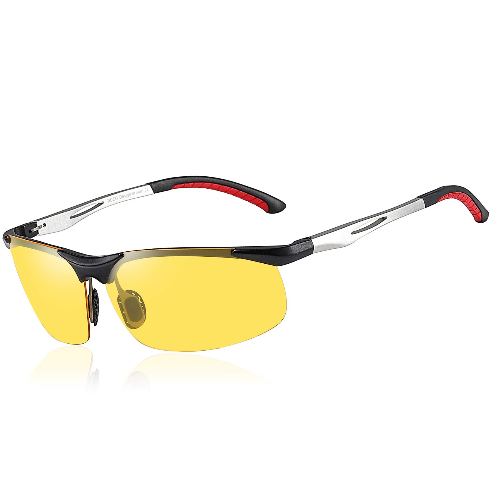 Duco Yellow Night-vision Glasses Anti-glare Driving HD Night Driving Glasses 2181 by DUCO
