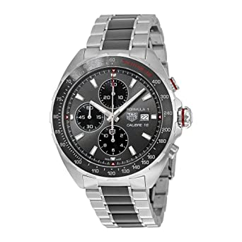 e79bf2ba741 Image Unavailable. Image not available for. Color  TAG Heuer Men s  Formula  1  Swiss Automatic Stainless Steel Dress Watch ...