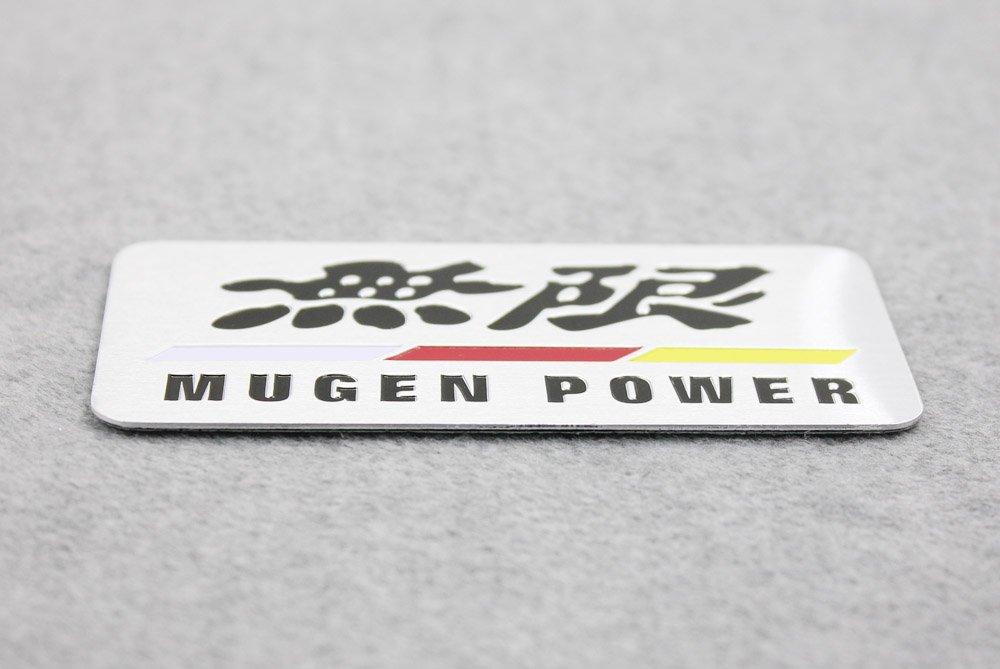 Side Rear Decal Mugen Power Emblem Badge Sticker For Honda Acura bleqi.co.ltd