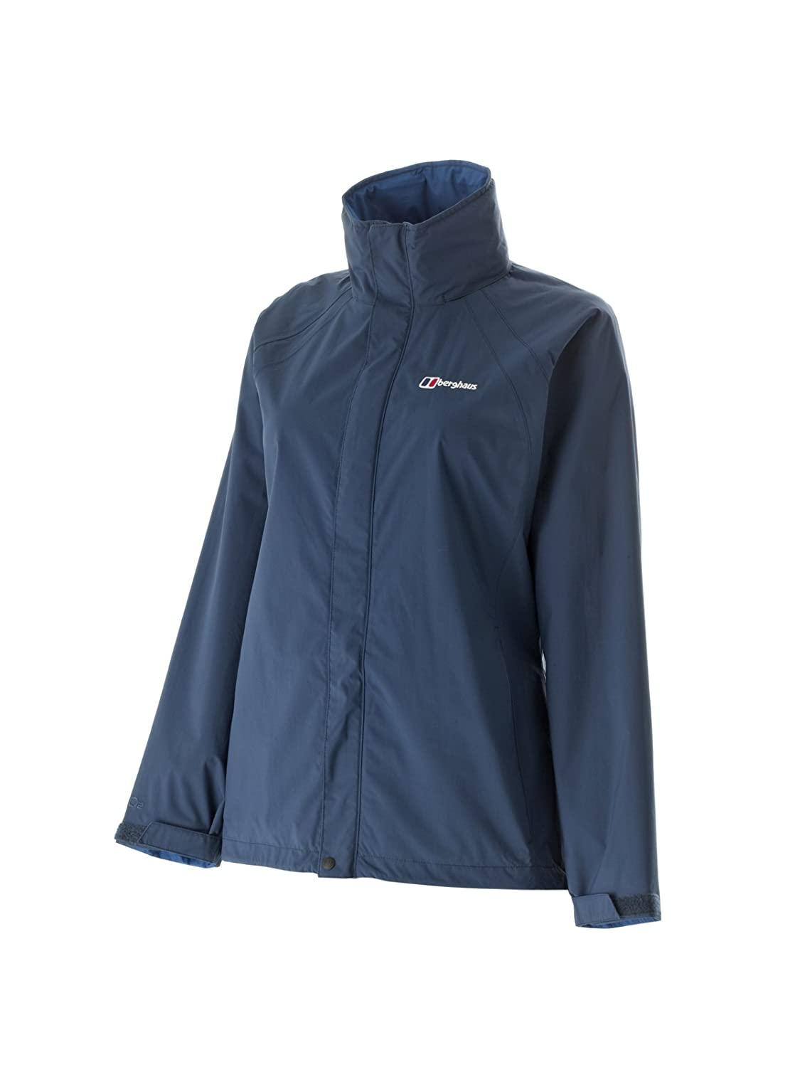 Berghaus Women's Calisto Alpha 3-in-1 Waterproof Jacket (14, Off Width Blue / Silver Haze)