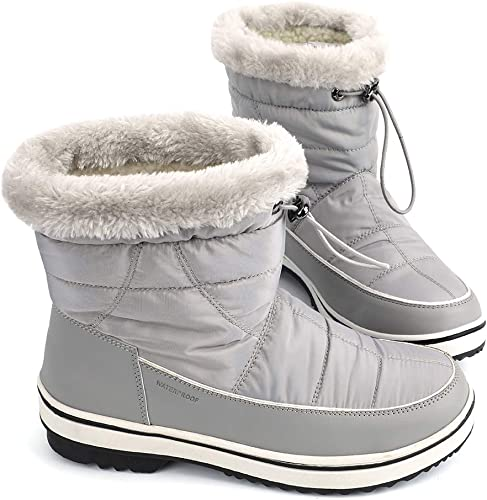 Women/'s Winter Warm Ankle High Snow Boots Ladies Fur Thick Shoes Free Ship Sbox