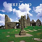 Goldistock -''Ireland'' 2018 Large Wall Calendar - 12'' x 24'' (Open) - Thick & Sturdy Paper - Beautiful Images of Historic Ireland