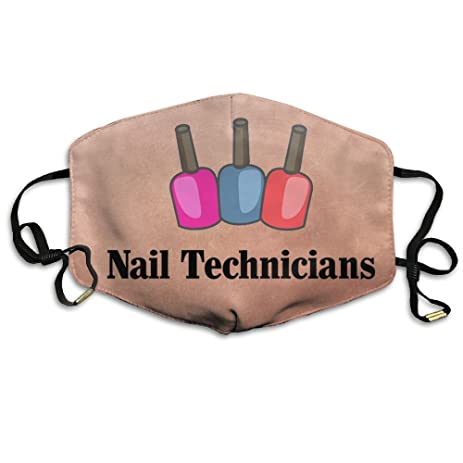 Nail Technician Face Mouth Mask Cover With Adjustable Straps For Man And Woman