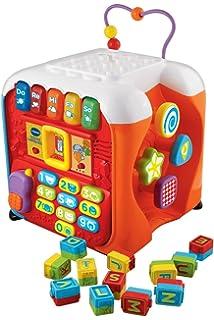 Vtech 80 505050 Ultimate Alphabet Activity Cube Pink Amazoncouk