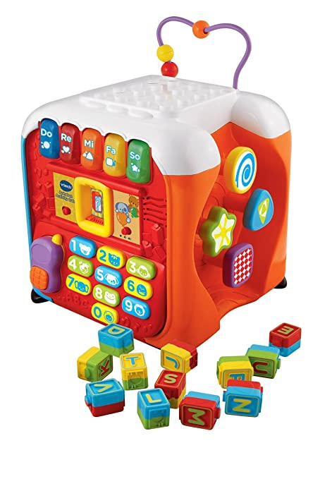 Amazon.com: VTech Descubrimiento Cube: Toys & Games
