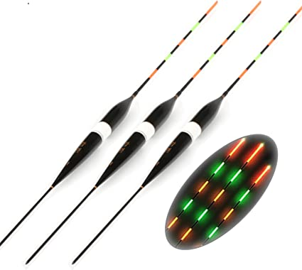 3pcs Set Fishing Float Led Electric Float Light Fishing Tackle Luminous Electronic Float Without Battery Corks Floats Bobbers Amazon Canada