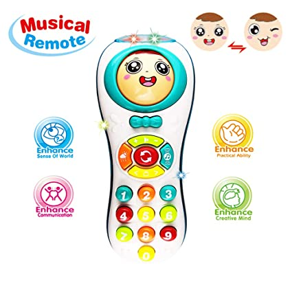 Learning Toys 12 24 Year Old Baby Girl Educational Remote 1 3
