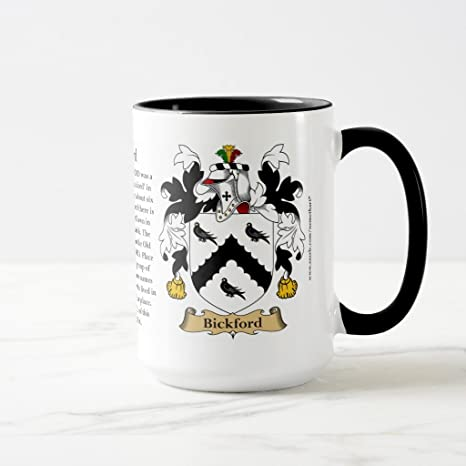 Amazon Zazzle Bickford The Origin The Meaning And The Crest