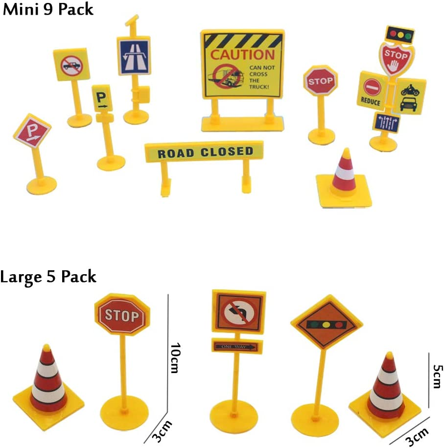 Construction Truck Party Balloon 55Pack Construction Theme Party Decoration Supplies Traffic Sign Cupcake Topper Truck//Fire Dept//School Bus//Police//Tank//Train//Ambulance