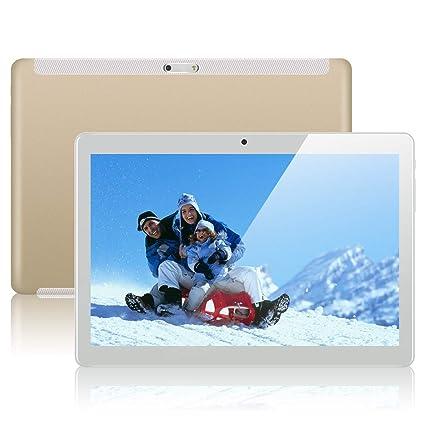 Padgene 10.1Android 7.0 Tablet PC 1GB RAM 16GB ROM Quad Core 1280*800 2MP 5MP Ranuras para Tarjetas Dual Sim 3G Desbloqueado Built in WiFi Bluetooth ...