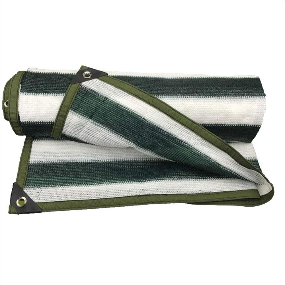 vert blanc 3x8m BÂche de prougeection pratique Tissu anti-pluie imperméable Filet pare-soleil en épingle à cheveux écran solaire épaississeHommest épaississeHommest balcon toit toit voiture net ombre de refroidisse