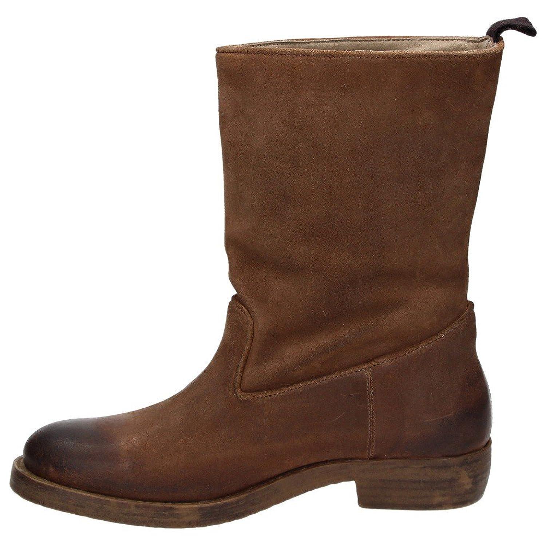 Napapijri Ragna mid boot 0575060 045 Damen Schuhe Leder Boots Stiefel Braun