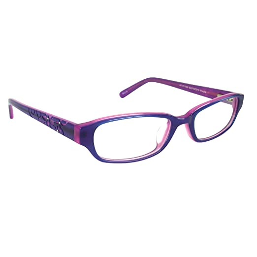 Amazon.com: Childrens Girls Prescription Eyeglasses Frames in Purple ...