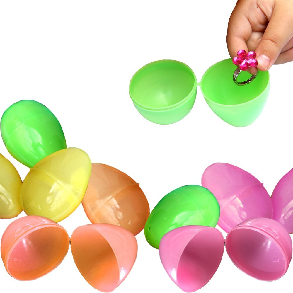 Toy Cubby Farbeful Plastic Easter Eggs - 144 pieces by Toy Cubby
