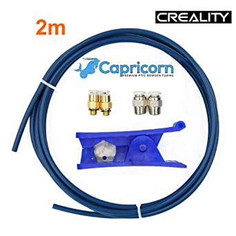 Amazon.com: Creality Capricorn Bowden PTFE Tubing Tube ...