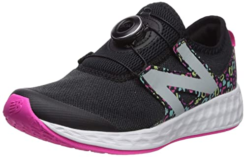 2a9d52ad89 New Balance N Speed V1 Zapatillas de Correr para niños, Negro (Black/Peony