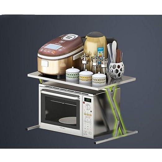 Cocina Microondas Horno Estante Almacenaje de cocina Estante ...