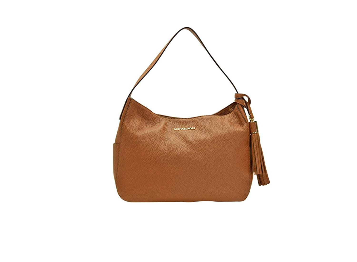 cbaab802a0ea Michael Kors Ashbury Large Slouchy Shoulder Leather Luggage  Handbags   Amazon.com