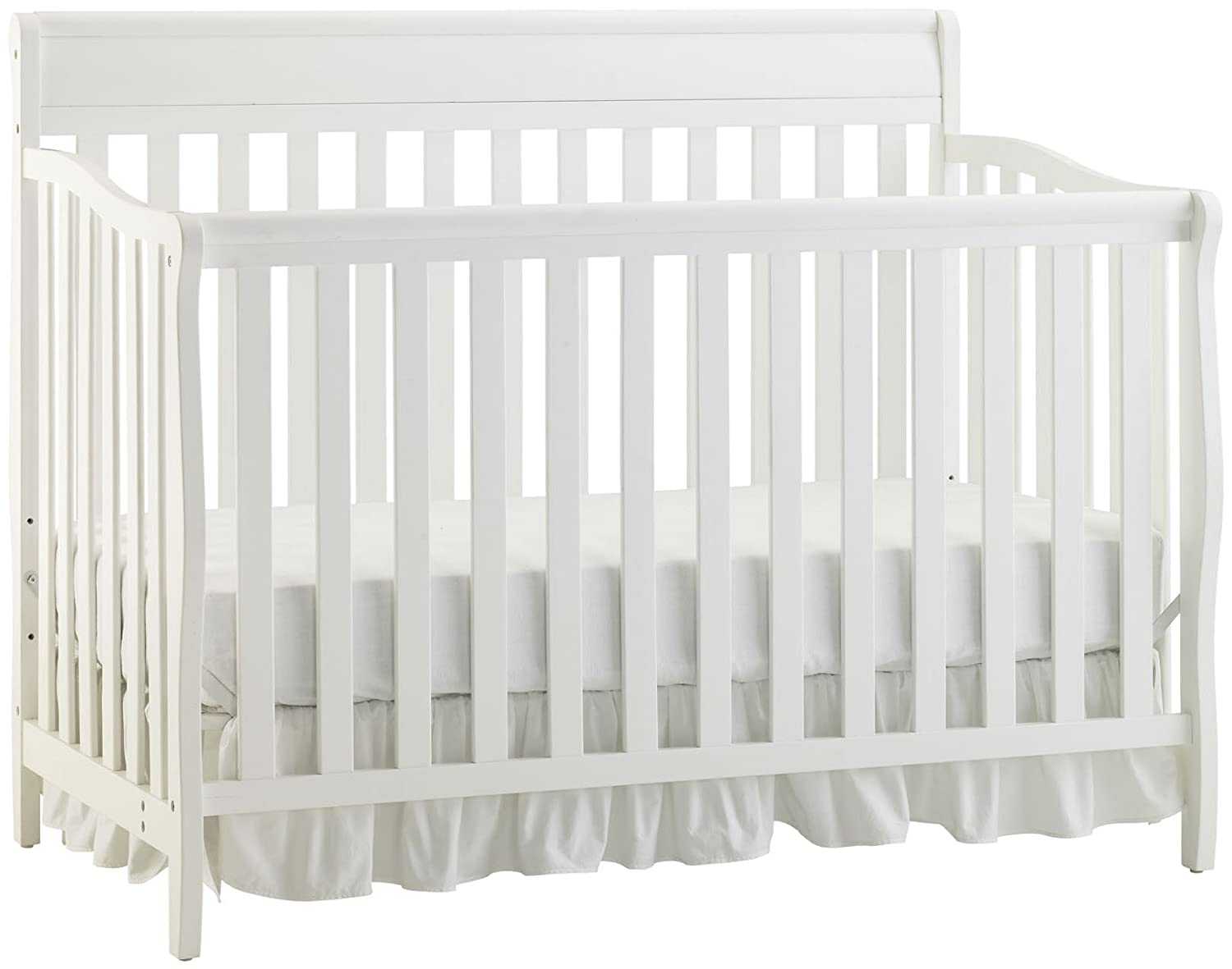 cribs with convertible changing solid changingle regarding for and made beautiful perfect baby tables attached table wood of white