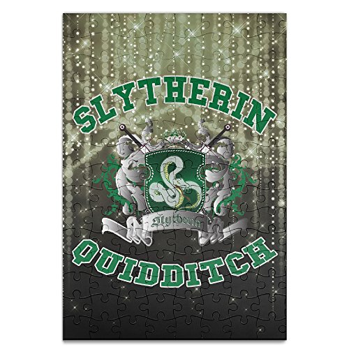 Beauty Harry Potter-Slytherin Quidditch 5 Personalized Picture Print Jigsaw Puzzle Puzzle A4 - 120 (Harry Potter Quidditch Costume Kit)