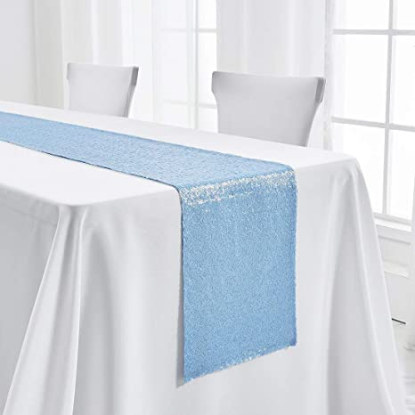 Polyester Tablecloth-Wedding Tablecloth-Bridal-House Decoration Runner Polyester 12x72 Inches Ivory