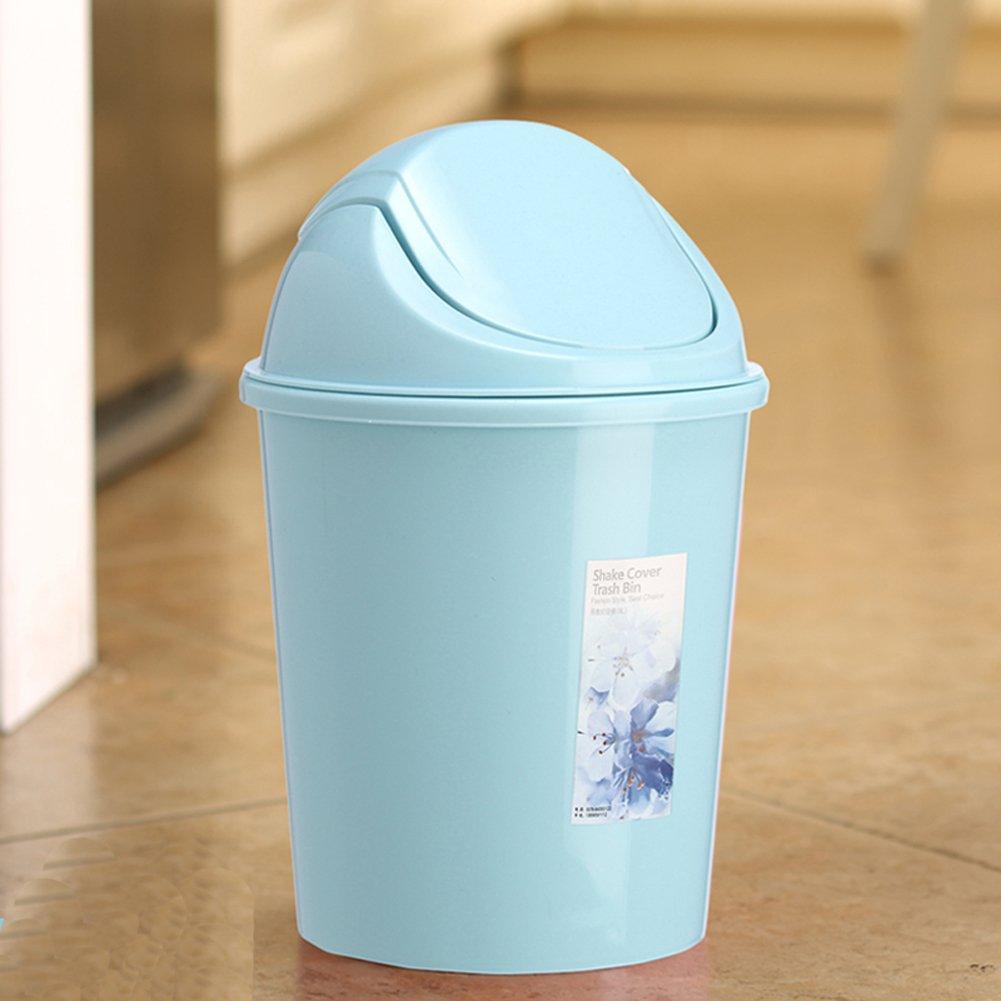 Amazon.com: Creative Kitchen Trash Can Trash Can Sitting Room Trash ...