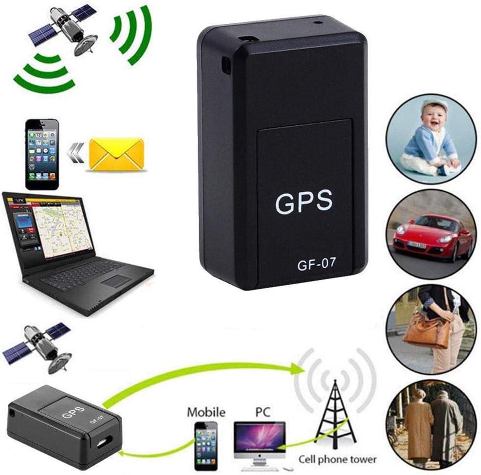 Sttoce Rastreador GPS, Mini rastreador Personal portátil y de vehículos con Fuerte magnetismo para automóviles/Personas/Otros Objetos en Movimiento