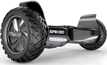 """EPIKGO Self Balancing Scooter Hover Self-Balance Board - UL2272 Certified, All-Terrain 8.5"""" Alloy Wheel, 400W Dual-Motor, LG Battery, Board Hover Tough Road Condition"""