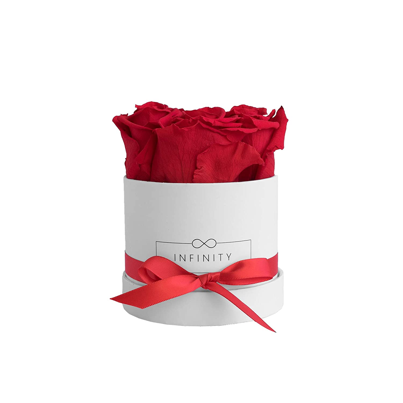 Infinity Flower Box Small Box (Color Blanco) Regalo Artículo ...
