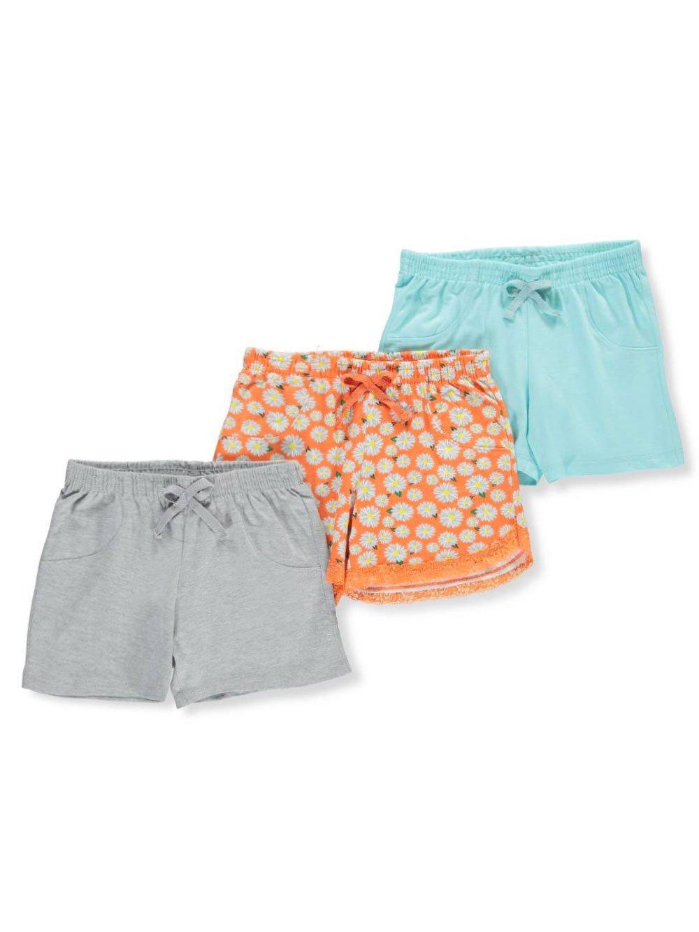 Pink Dot Girls' 3-Pack Shorts 6X