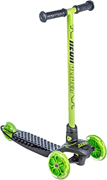 Amazon.com: Yvolution Neon Glider de Vybe | Patinete LED ...