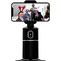 SIKVIO Soporte de Seguimiento Facial de 360 ° para transmisión en Vivo, Seguimiento automático, Soporte para Palo de…