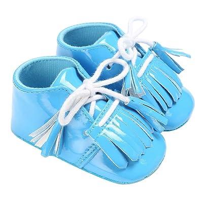 2c3ac203e5050 Wokee Chaussures Souple Pour Bébé (Garçon) Blanc Weiß M ...