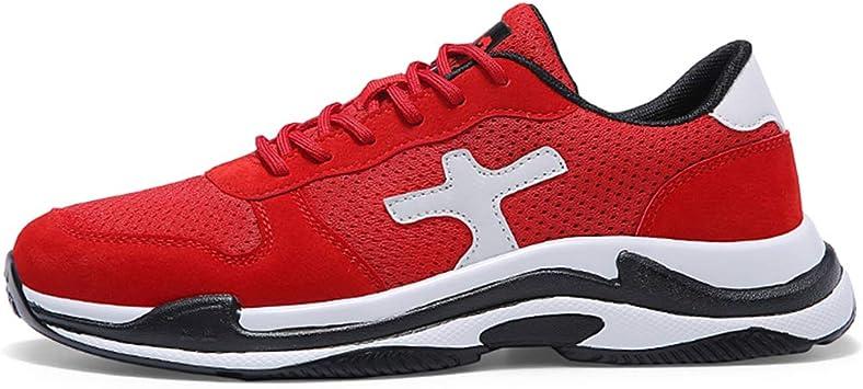 HDWY Zapatos De Zapatillas De Deporte Transpirable Los Hombres De Choque-Absorción De La Juventud Deportes Casual ...