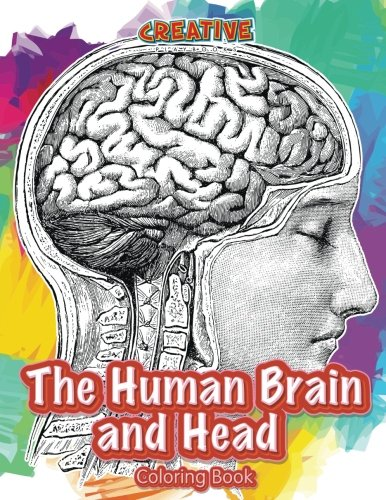 The Human Brain and Head Coloring Book