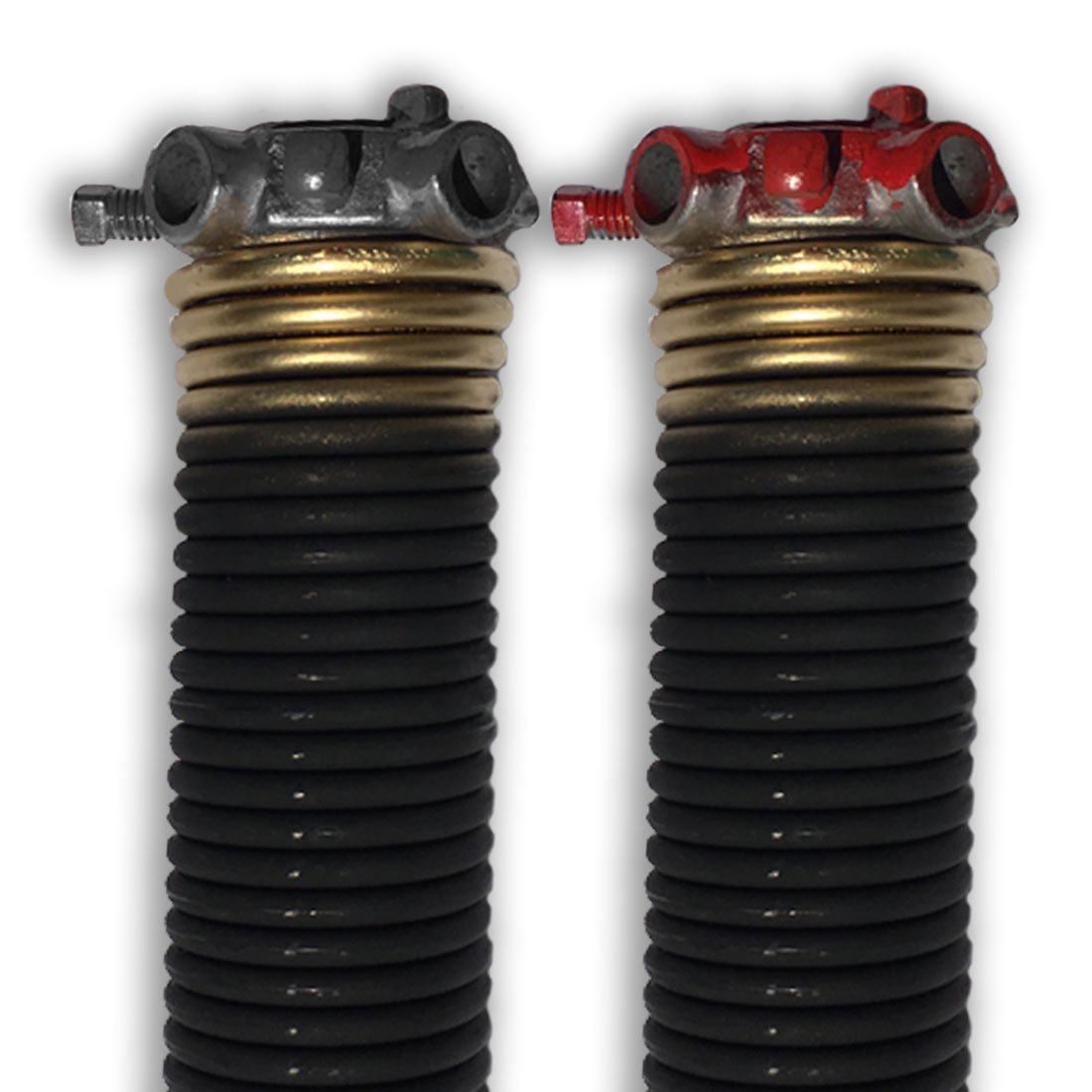 DURA-LIFT .250 x 2'' x 33'' Torsion Garage Springs (Gold, Left & Right Wound) by DURA-LIFT