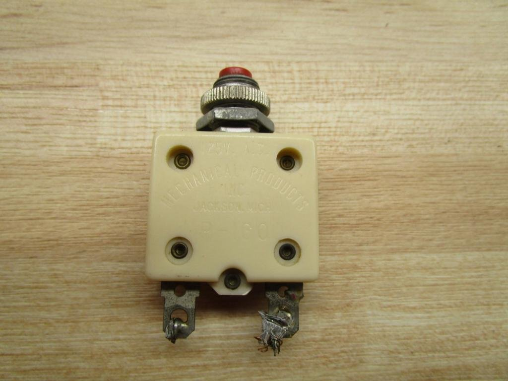 Mp1600 Mp1600t20 20a Aircraft Circuit Breaker How A Works Rg Industries Inc Industrial Scientific