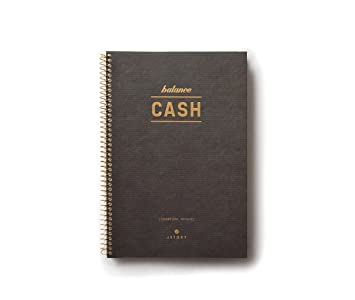 amazon com jstory vintage style spiral cash book 48 sheets brown