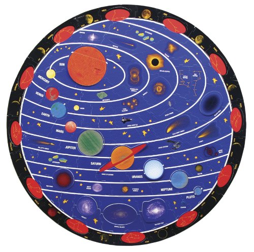 Chenille Kraft 4404 WonderFoam Solar System Floor Puzzle, 152 pieces (CKC4404)