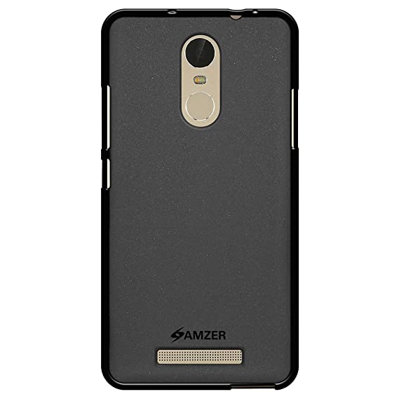 new product 23496 b5d81 AMZER Pudding Soft Gel TPU Skin Fit Case Cover for Xiaomi Redmi Note 3,  Xiaomi Redmi Note 2 Pro - Retail Packaging - Black