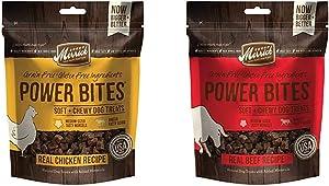 Merrick Power Bites Natural Grain Free Gluten Free Soft & Chewy Chews Dog Treats - Chicken & Beef