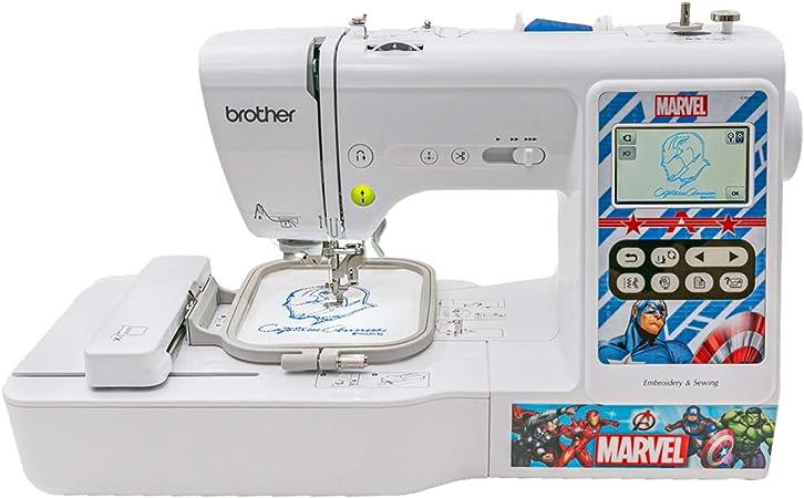 Brother LB5000M Marvel máquina de coser y bordar computarizada: Amazon.es: Hogar
