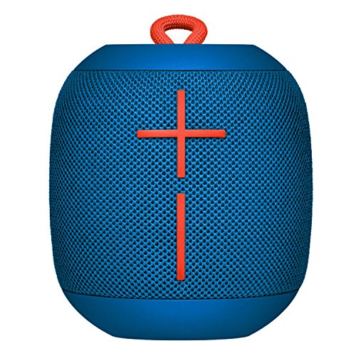 Logitech Ultimate Ears Wonderboom Bluetooth Wireless Waterproof Portable Speaker - Blue - 984-001064 (Certified Refurbished)
