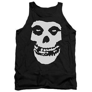 09e6b315c1499 Amazon.com  Misfits - Fiend Skull - Adult Tank Top  Clothing